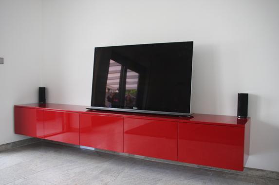 Tv Meubel Rood : Schoonheid huis ontwerp en decoratie tv meubel wit met eiken blad